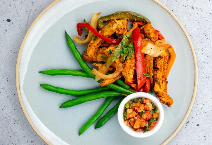 Chicken Fajita Low Carb
