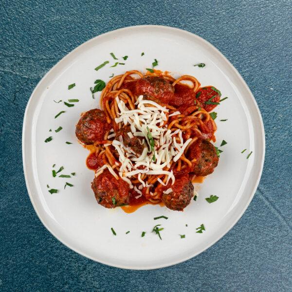 Spaghetti Lean Meatballs