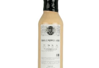 12oz Garlic Pepper Aioli