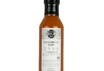 12oz Peach Chipotle Glaze