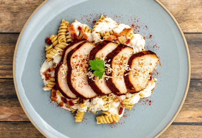 Chicken and Bacon Carbonara